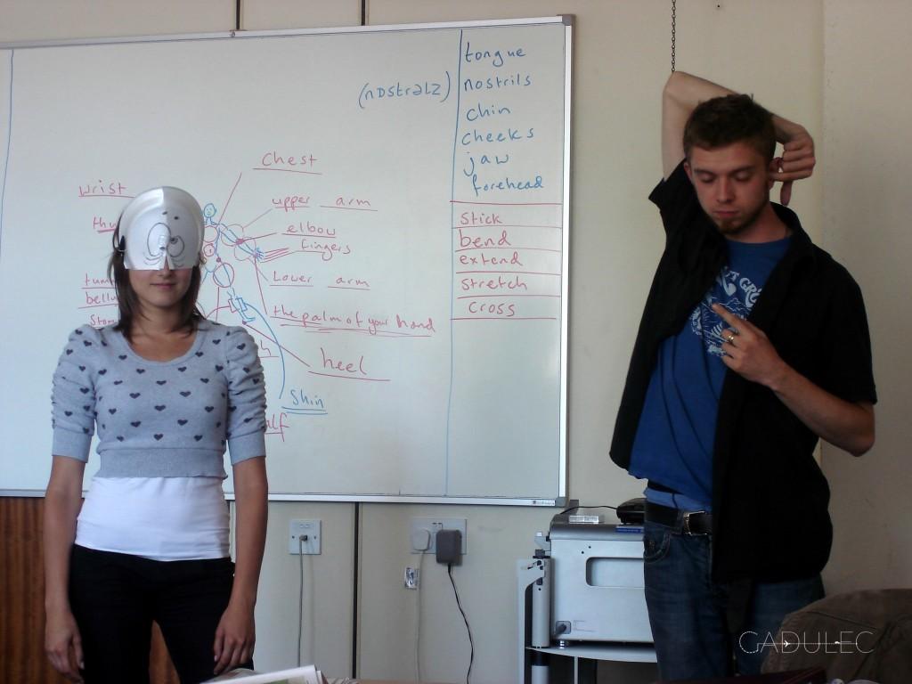 Lekcja języka angielskiego w Brighton
