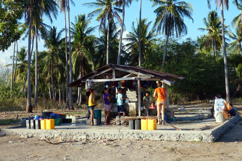 Studnia w głębi wyspy - w kwietniu mieszkańcy mieli spory problem z wodą pitną.