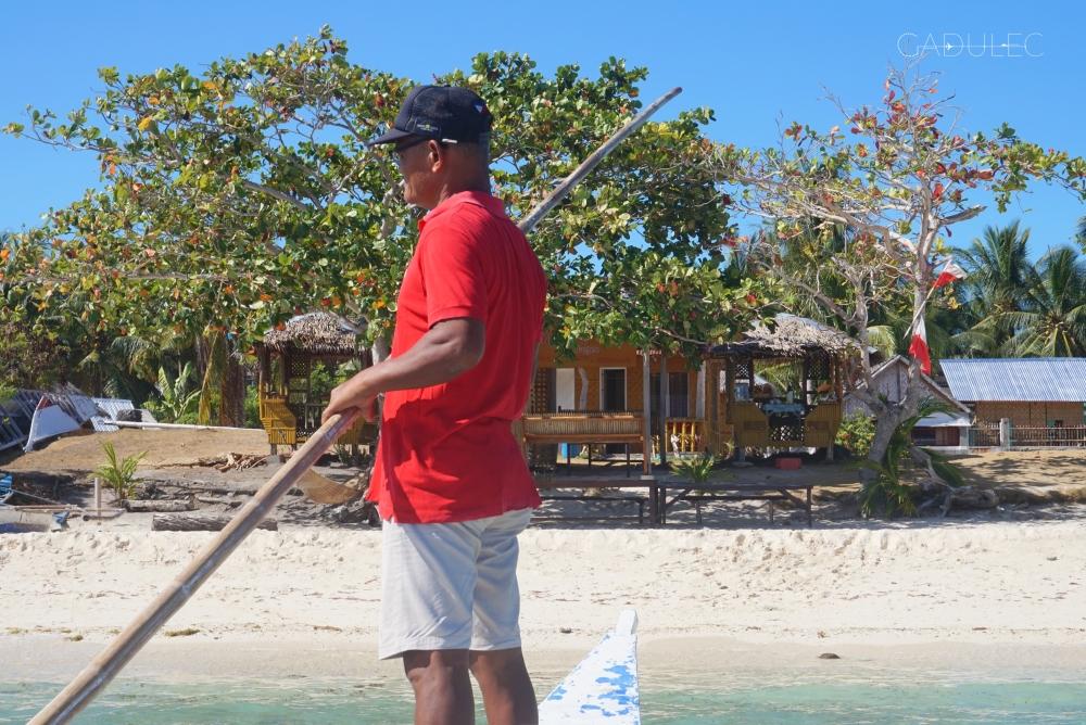 Pan Enas - właściciel naszego bungalowu