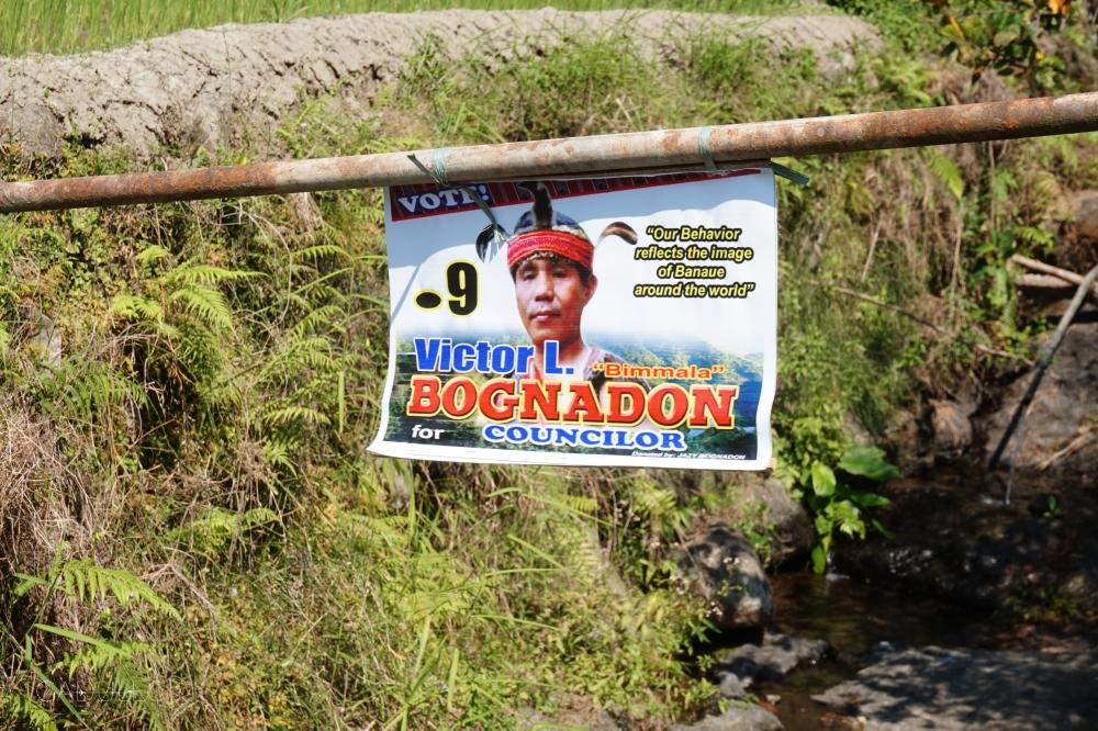 Ogłoszenie wyborcze, Banaue