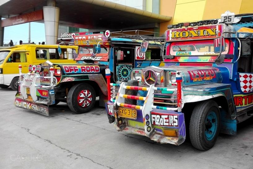 Jeepney na wyspie Bohol