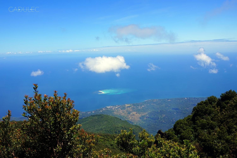 Widok ze szczytu Hibok-Hibok