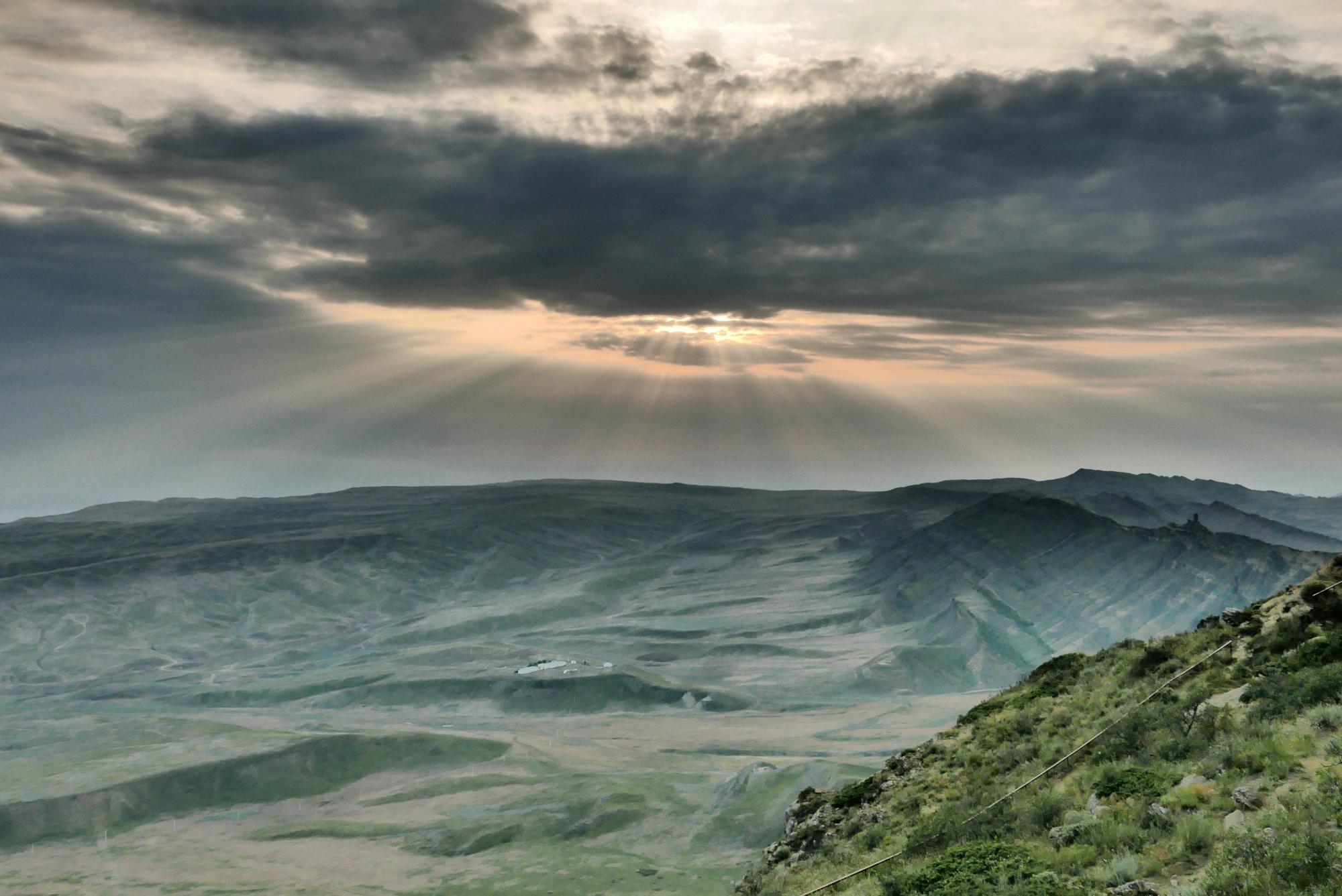 Widok na Azerbejdżan