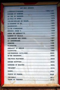 Lista filmów, które były kręcone w okolicy