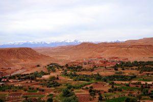 widok z Ait Ben Haddou