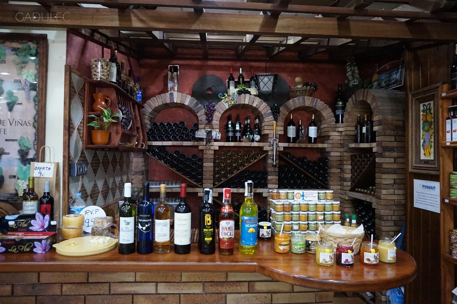 Degustacja kanaryjskiego wina i kozich serów (lokalne specjały)