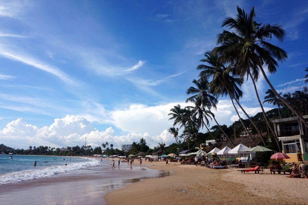 Plaże Sri Lanki