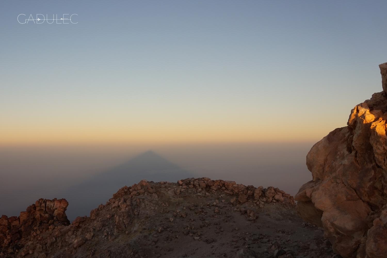 Słynny cień Teide