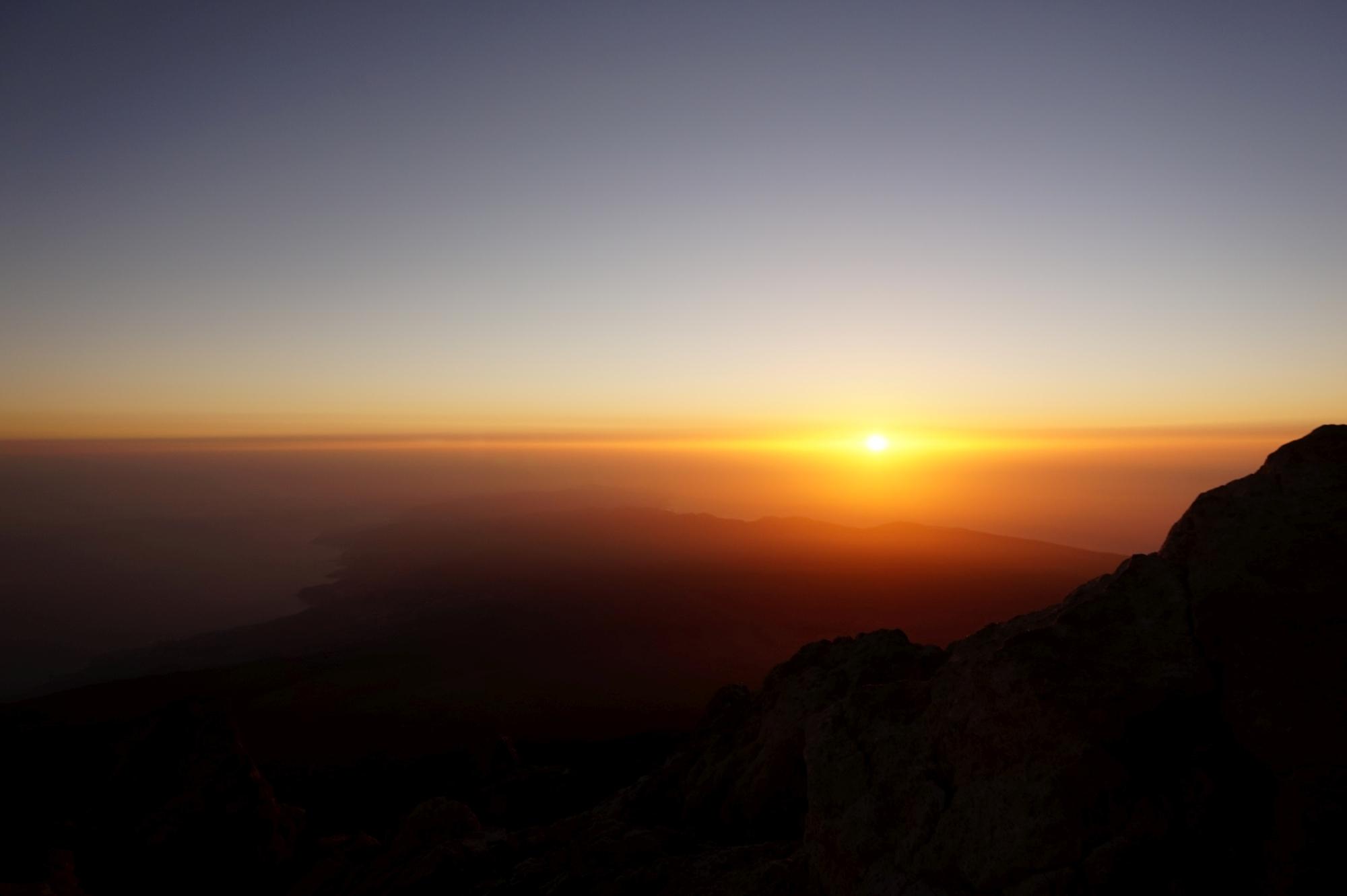 Wejście na wulkan Teide