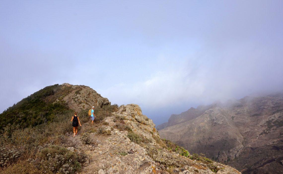 Trekking w górach Anaga