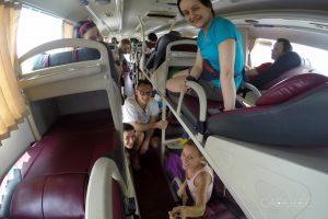 Wietnamskie autobusy z miejscami do spania