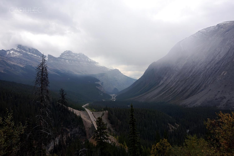W drodze z Banff do Jasper