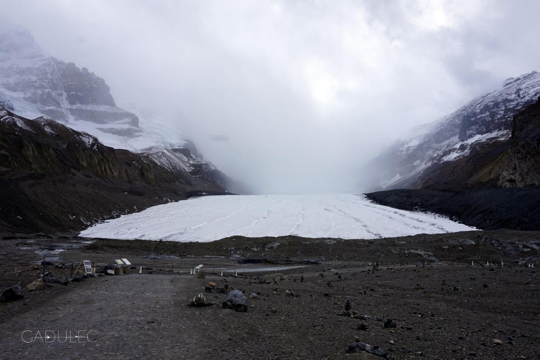 W drodze powrotnej zahaczyliśmy o lodowiec Athabasca