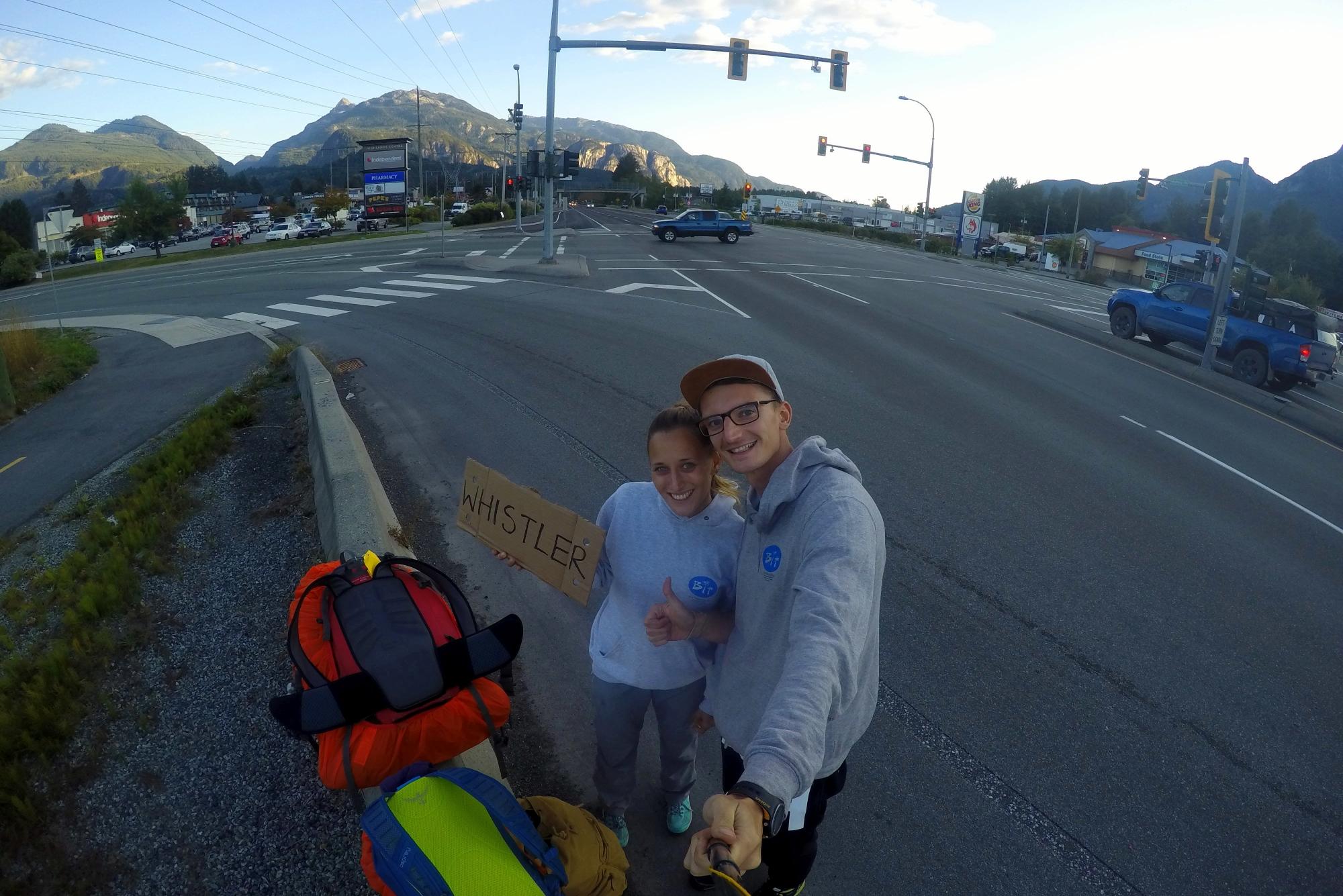 Autostop w Kanadzie