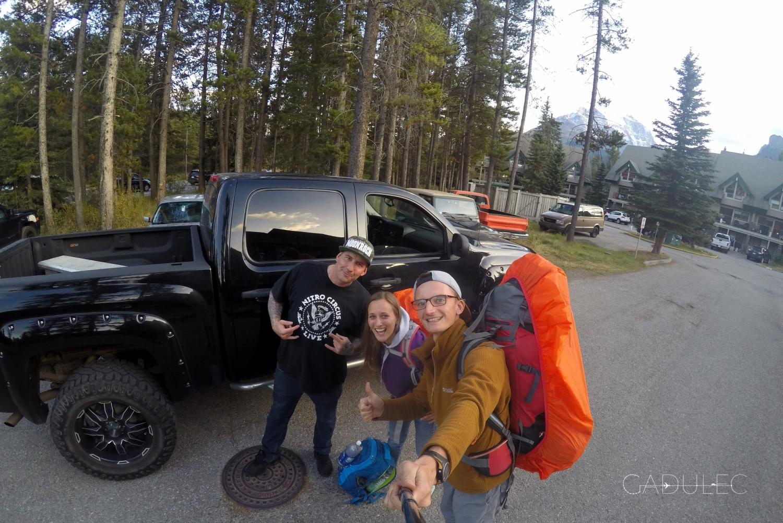 Truck, czyli wielki pick-up - ukochany samochód Kanadyjczyków.