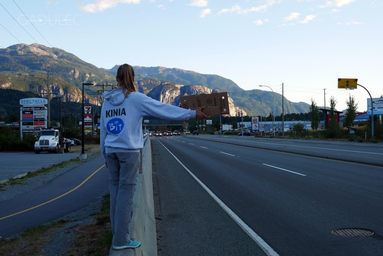 W drodze do Whistler