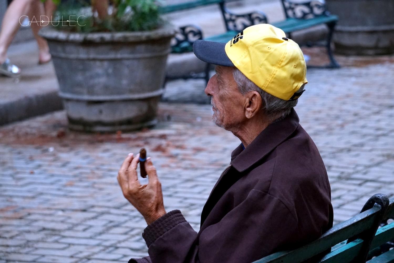 Mężczyzna z cygarem, Hawana