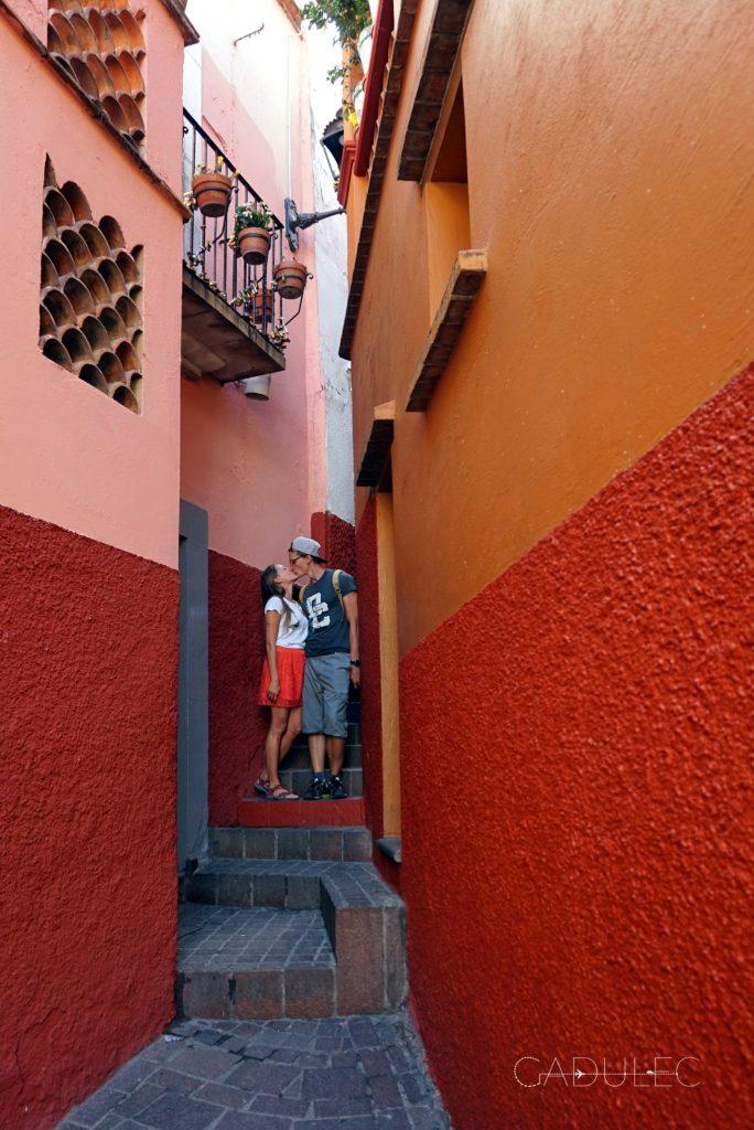Guanajuato-zaulek-pocalunkow