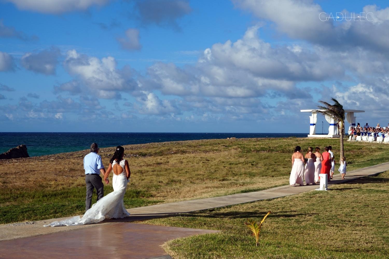 W Varadero przypadkiem trafiliśmy na taki piękny ślub...