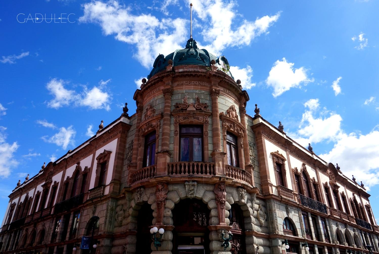 Oaxaca-budynek