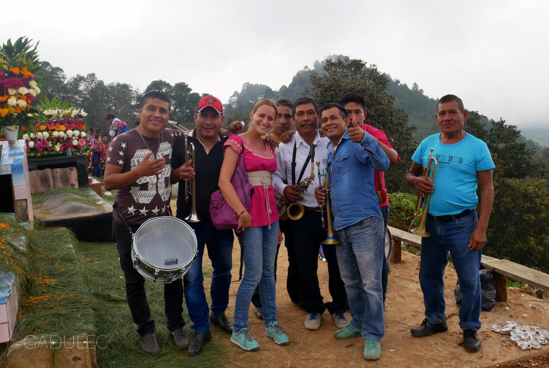 Z mariachi w Zinacantan