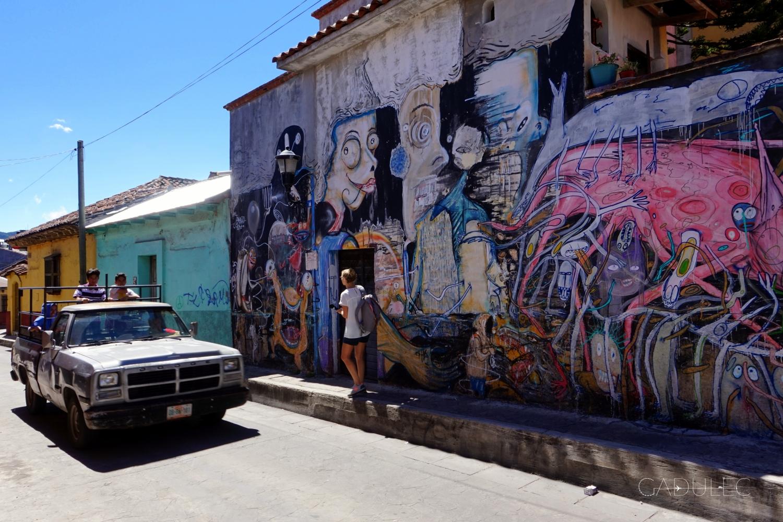 San Cristó to także miasto pełne murali
