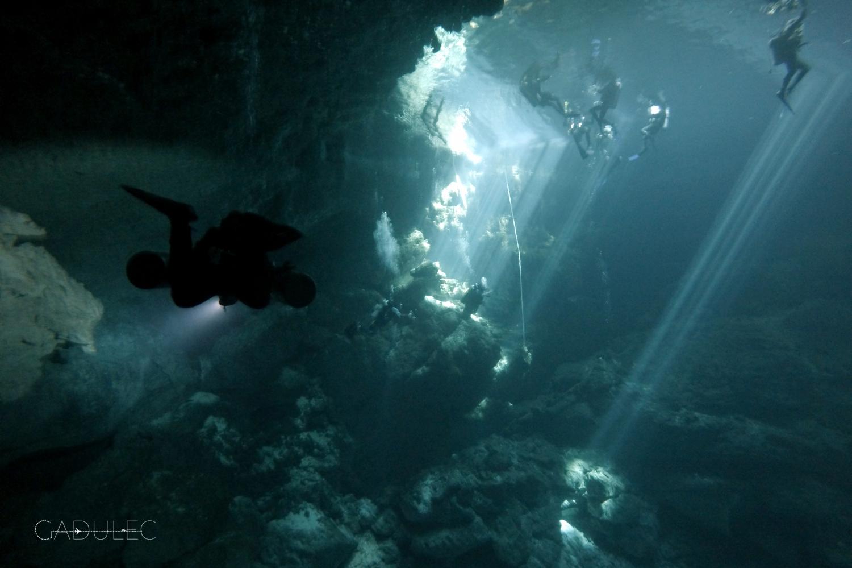 Nurkowanie w PIT Cenote