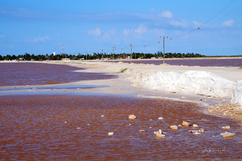 """""""Różowe"""" jeziorka Los Coloradas"""