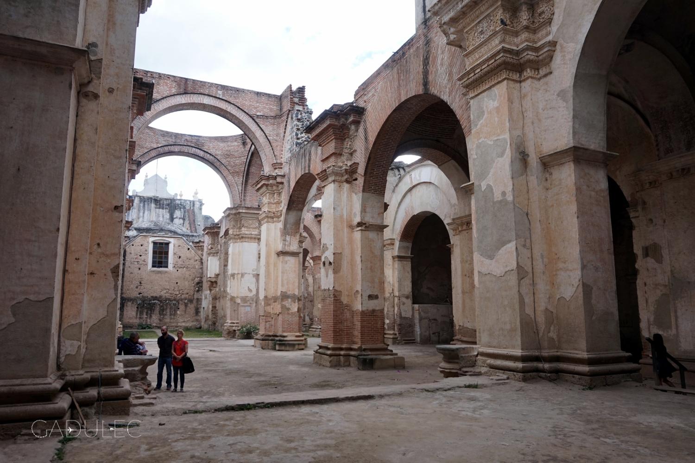 Ruiny katedry San Jose