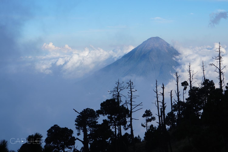 wulkan-Agua-Gwatemala
