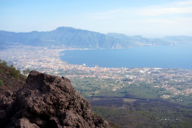 Wezuwiusz-widok-Neapol