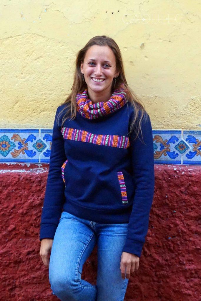 Bluza z tradycyjnymi wstawkami - nowy nabytek!