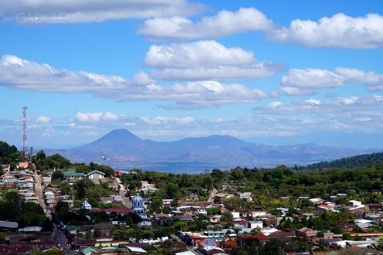 Widok na całe miasteczko Concepción de Ataco