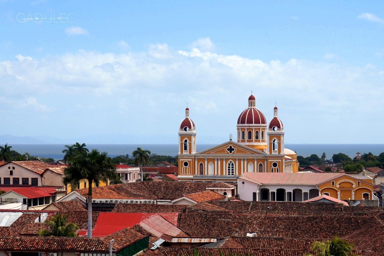 Widok z kościoła La Merced