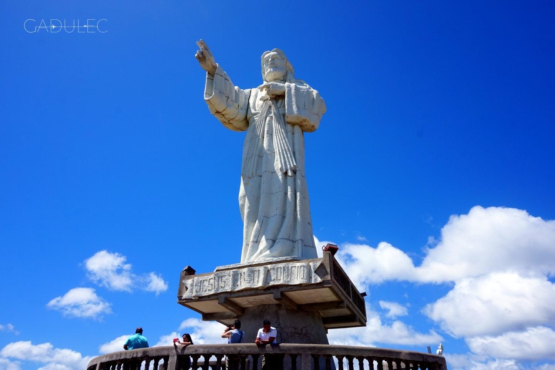 Pomnik Jezusa w San Juan del Sur ma 134 m wysokości. Stworzono go na pamiątkę objawienia