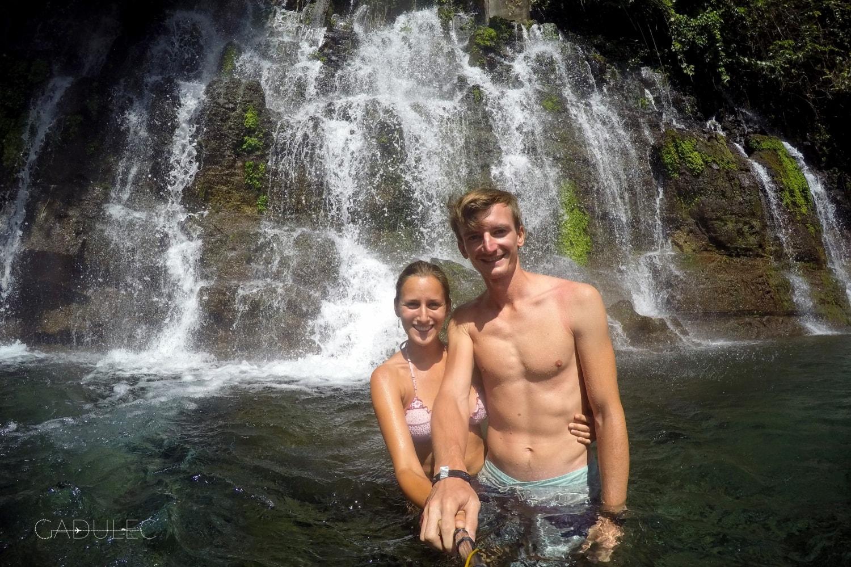 Wodospady Chorros de la Calera koło Juayua