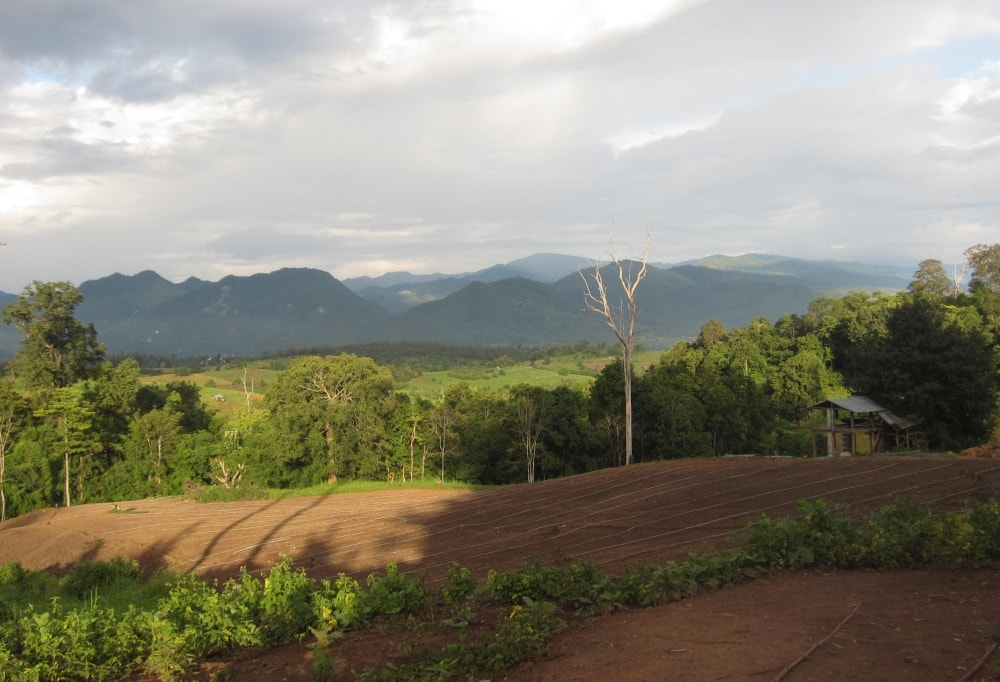 wioska Pai w Tajlandii