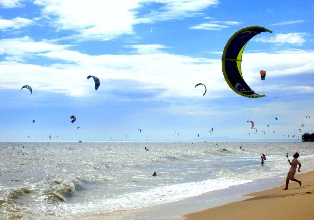 kitesuring w Mui ne, wietnam