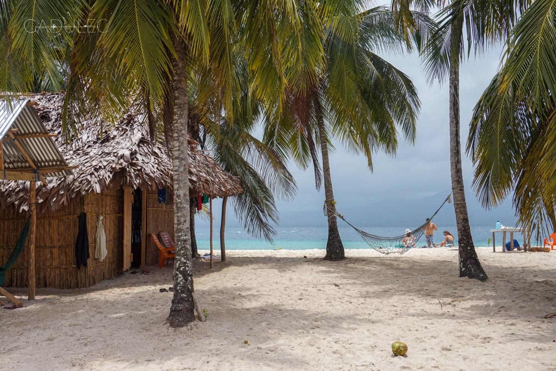 Tutaj spaliśmy... (San Blas, Panama)