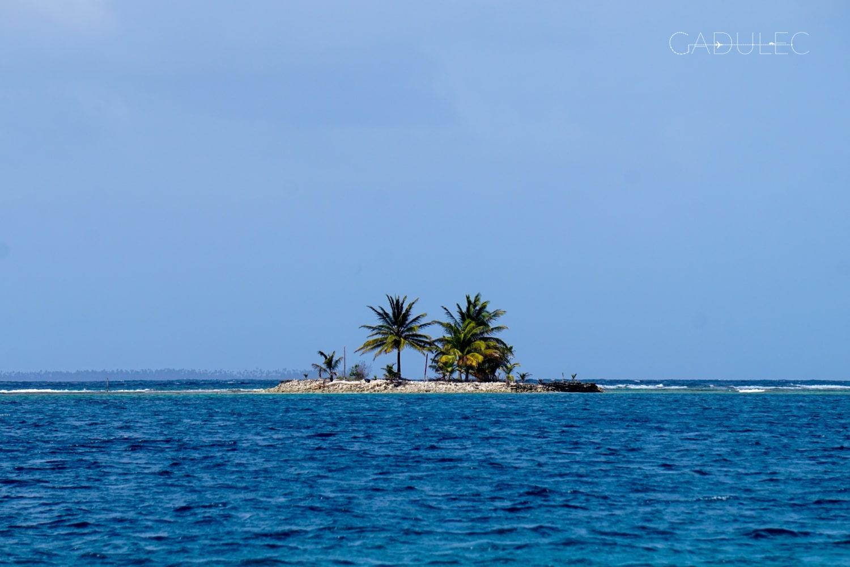 Takich wysepek wokół naszej Naranjo Chico było dziesiątki!