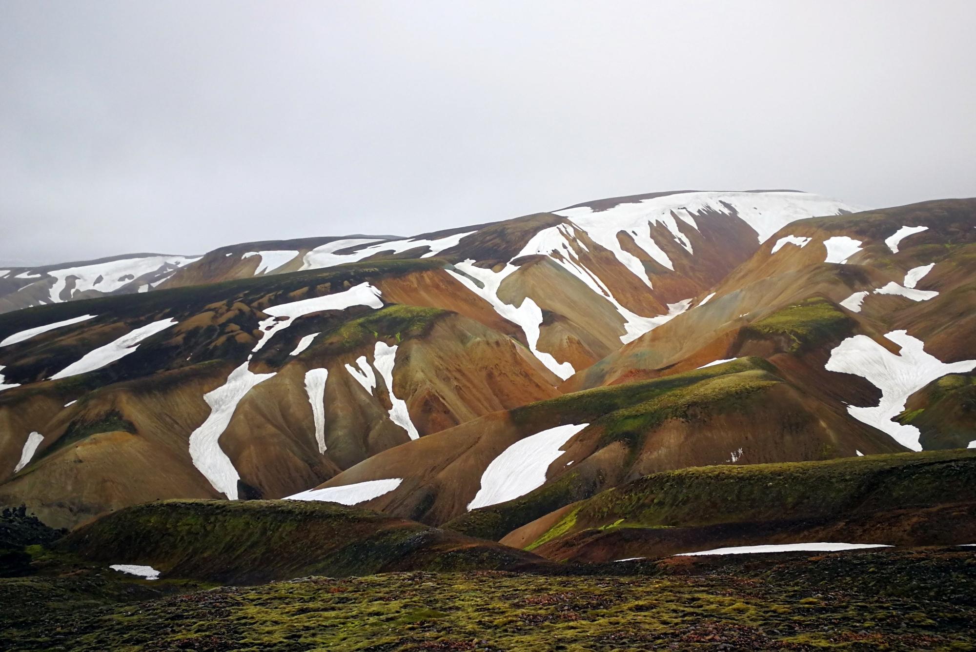 Cudowne Landmannalaugar!