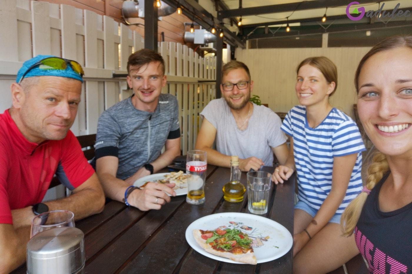 Spotkanie w bistro Słodko-Słono w Białogórze