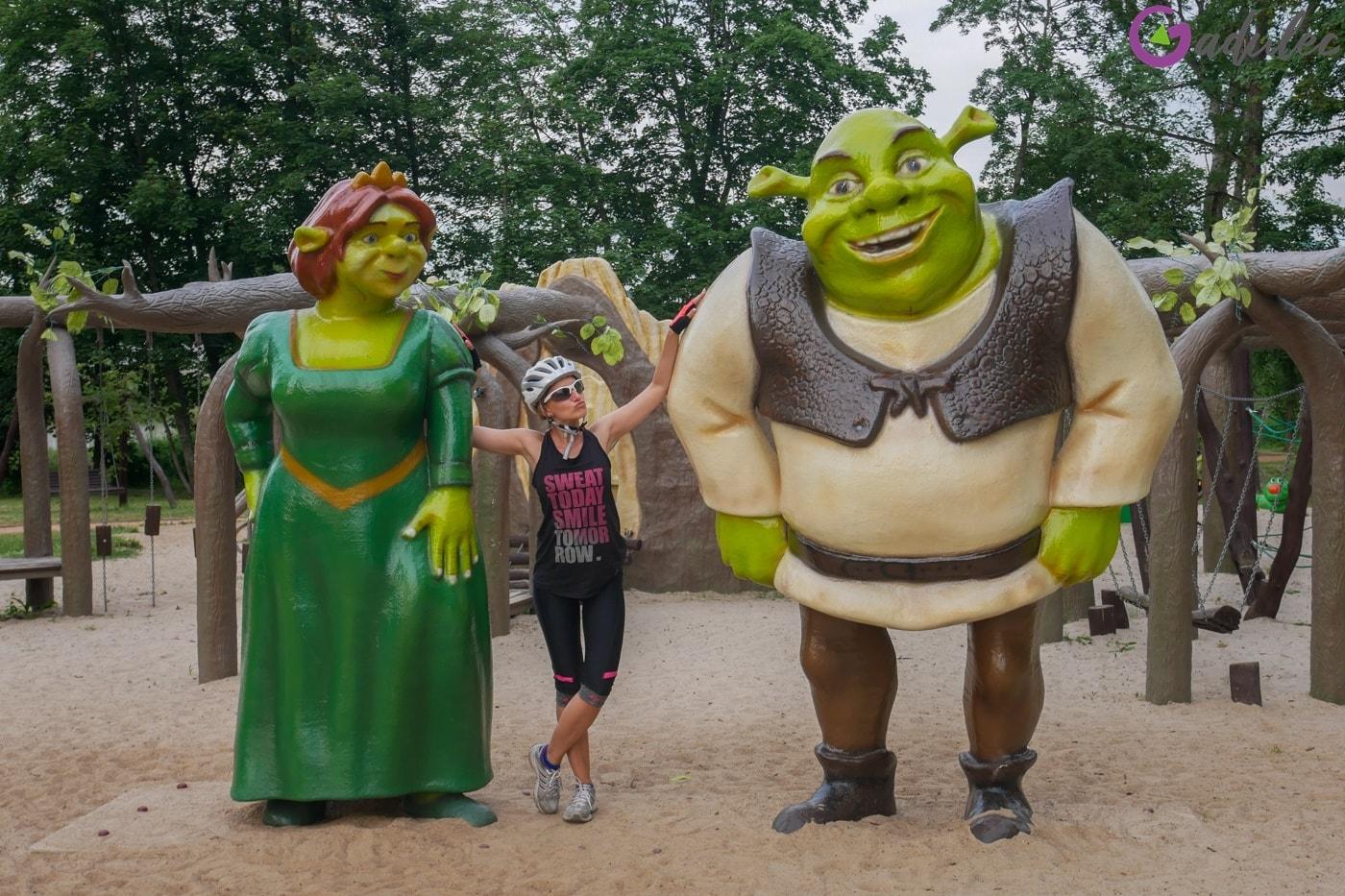 Plac zabaw - Shrek i Fiona