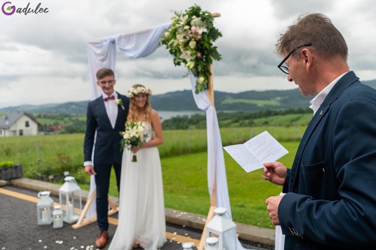 Przemowa taty na ślubie