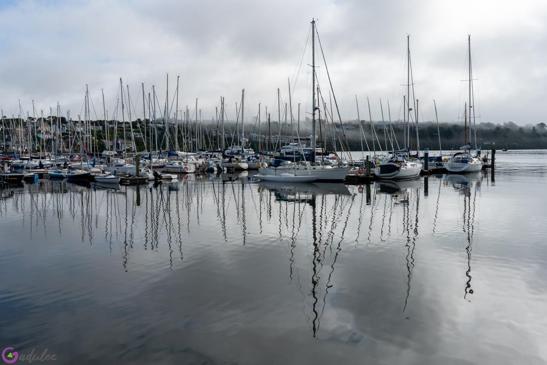 Port w Kinsale - Irlandia