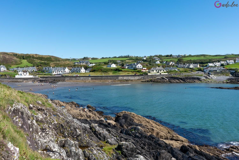 Plaża Tragumna w Irlandii