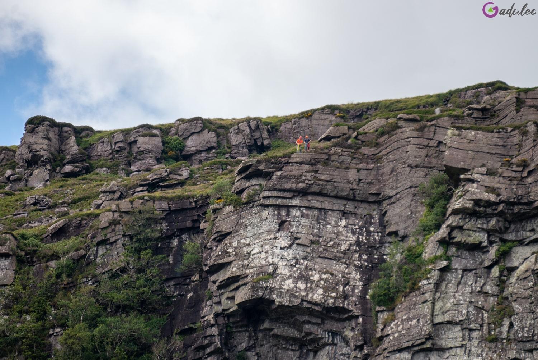 Przełęcz Dunloe - wspinaczka skałkowa