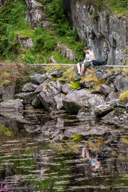 Przełęcz Dunloe - latanie dronem