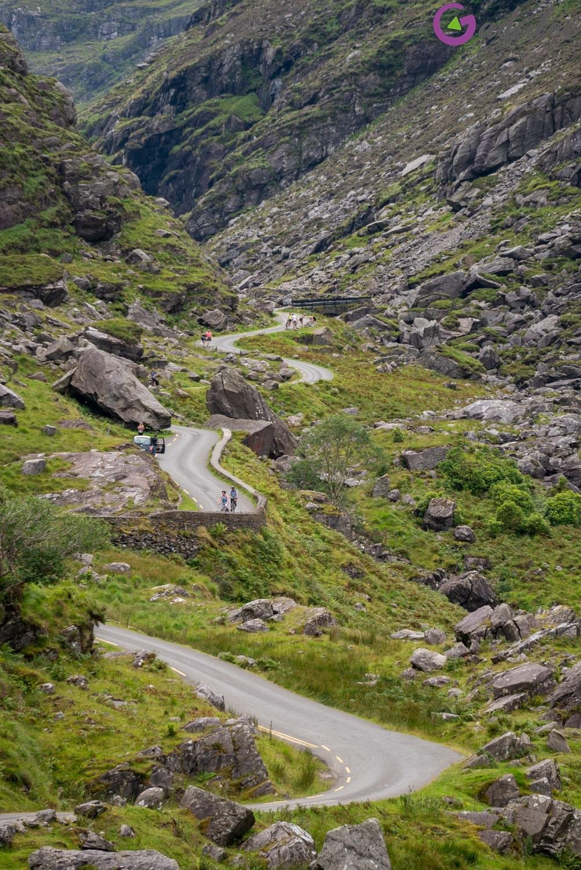 Kręta droga - Przełęcz Dunloe