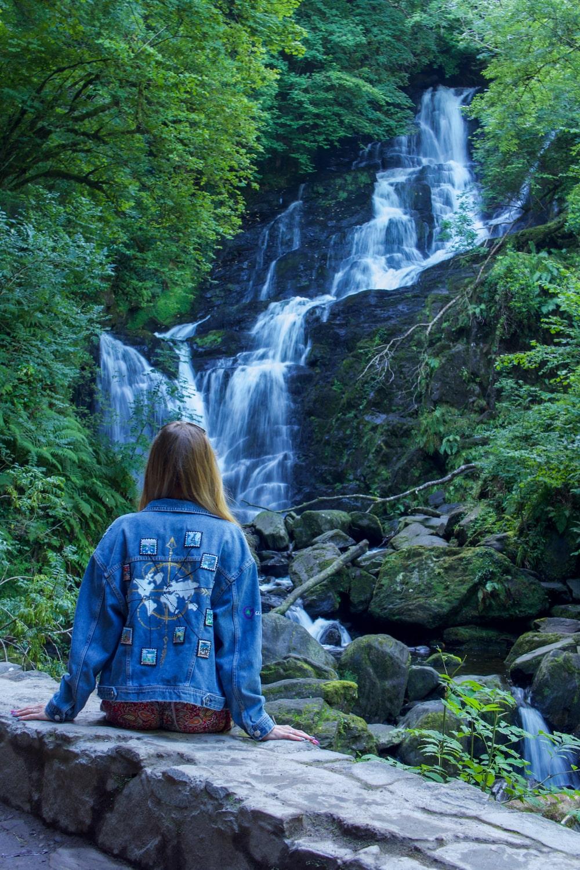 Wodospad Torc w Parku Narodowym Killarney